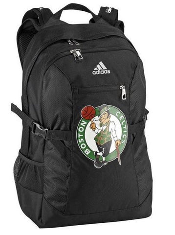 Adidas Boston Celtics Basketball Backpack with Laptop Pocket