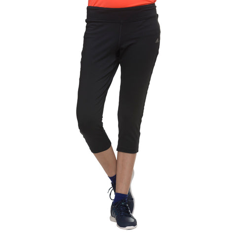 Adidas Clima ESS 34 T Pull On Women's Black Training Tights D89725