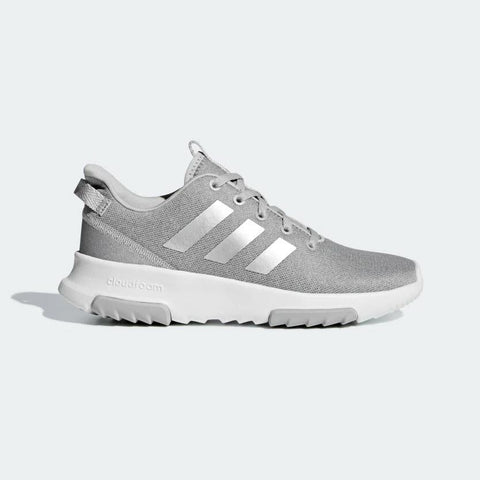 Adidas Cloudfoam Racer TR Kids Shoes Grey and White F35428 Famous Rock Shop Newcastle 2300 NSW Australia