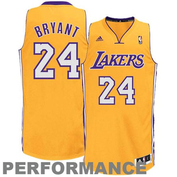 a4392c8fcae Adidas NBA Jersey Lakers BRYANT  24 Yellow – Famous Rock Shop