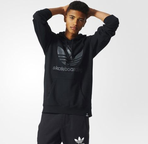 Adidas Originals ADV Hoodie Black/Carbon AB7909