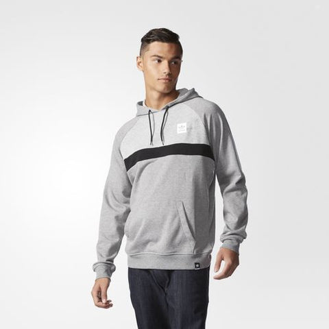Adidas Originals Clima Blocked HD Hoodie Grey S93290