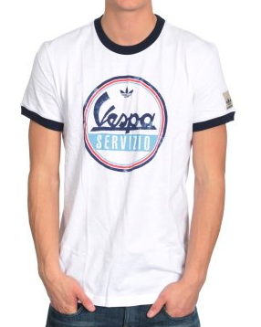 Adidas Originals D Vespa Graph T-Shirt White P018744