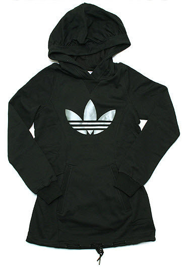 Adidas Originals F Sleek Trefoil Hoodie Black