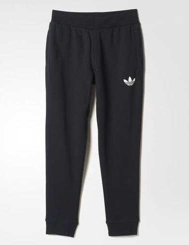 Adidas Originals Fitted 2.0 Sweat Pants Black