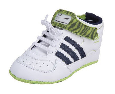 Adidas Originals Forum Crib Mid PRN G13853  Sizes Crib 0-3. WHT/DKINDI/RADGRN Famous Rock Shop Newcastle 2300 NSW Australia