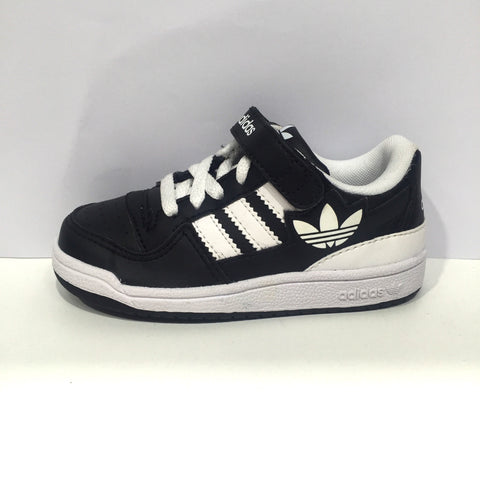 Adidas Originals Forum LO I XL Infant Shoe Black/White/Black. G51141. Infant Sizing 3-10. BLACK1/WHT/BLACK1  Famous Rock Shop Newcastle 2300 NSW Australia