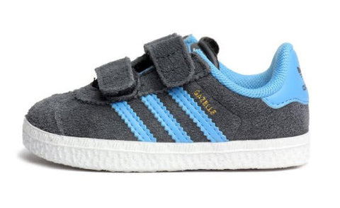 Adidas Originals Gazelle 2 CF Infant Q22891  Sizes Infant 4-10. DSHALE/JOYBLU/RUNWHT  Famous Rock Shop Newcastle NSW Australia