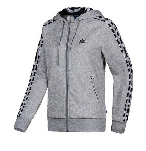 Adidas Originals Girly Zip Hoodie Fleece Grey M30464 Famous Rock Shop. 517 Hunter Street Newcastle, 2300 NSW Aiustralia
