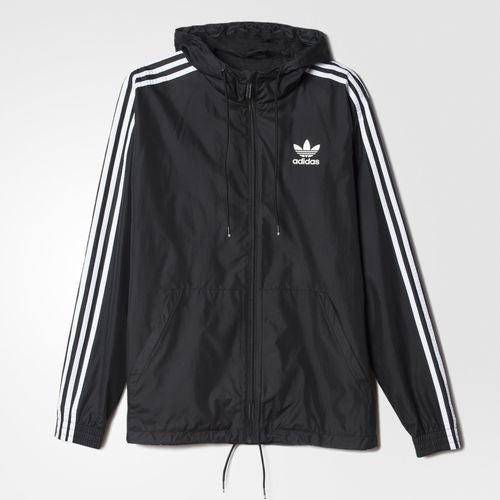 Adidas Originals Itasca Windbreaker Black White AB7491 1 – Famous Rock Shop 64b3c2de8