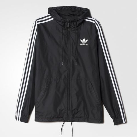 Adidas Originals Itasca Windbreaker Black/White AB7491