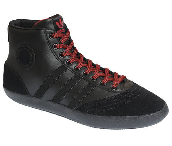 Adidas Originals Lady Indoor Mid Women's G19630. BLACK1/BLACK1/RADRED Famous Rock Shop. 517 Hunter Street Newcastle, 2300 NSW Australia
