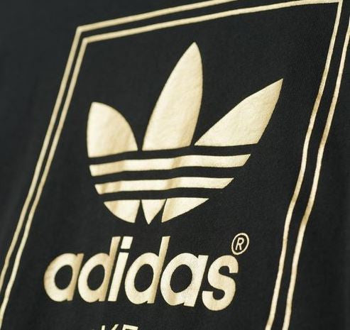 Adidas Originals Logo Essential Gold Women's T-Shirt