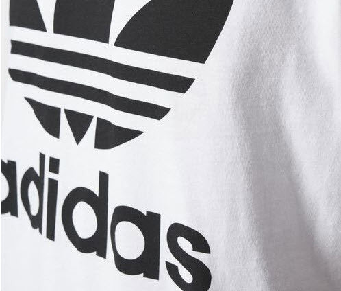 Adidas Originals ORIG Trefoil tshirt Colour White.  Famous Rock Shop Newcastle 2300 NSW Australia
