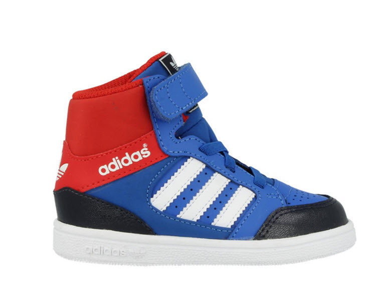 Adidas Originals Pro Play CF Infant D67918 Sizes Infant 4-10. BLUBIR/RUNWHT/COLRED Famous Rock Shop. 517 Hunter Street Newcastle, 2300 NSW Australia