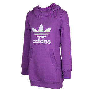Adidas Originals S Long Hoodie Ultra Purple X31909