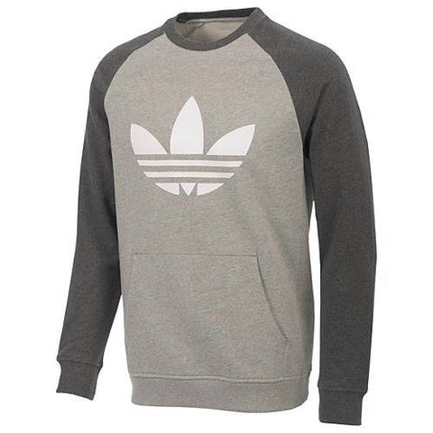 Adidas Originals Sport Lite Crew Medium Grey/White Z35472
