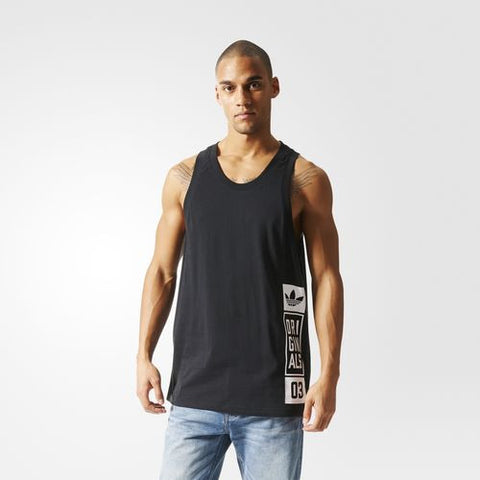 Adidas Originals Street Graphic Tank Black AJ7715