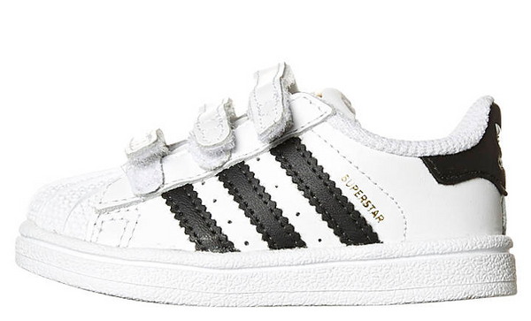 best website 071e9 a7c32 Adidas Originals Infants Superstar Foundation CF B23637 WHT BLK WHT1 –  Famous Rock Shop