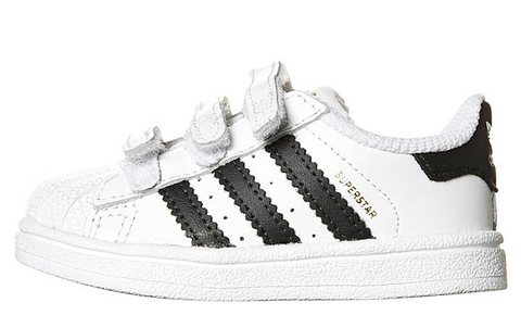 Adidas Originals Infants Superstar Foundation CF B23637 WHT/BLK/WHT