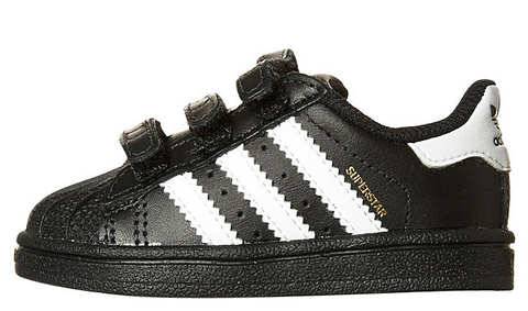 Adidas Originals Infants Superstar Foundation CF B23638 BLK/WHT/BLK