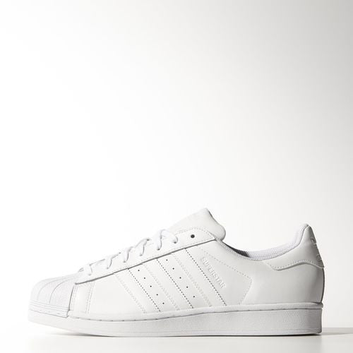 Cheap Adidas Mens Superstar Foundation Black White Leather Trainers 11.5