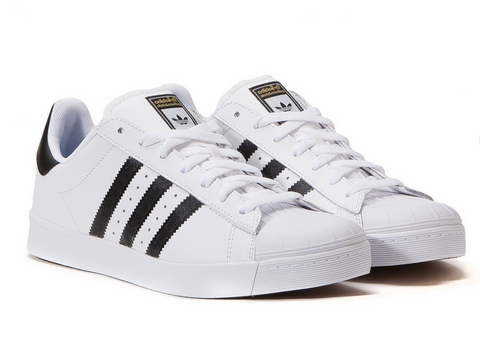 Adidas Originals Superstar Vulc Adv D68718 White/Black/White