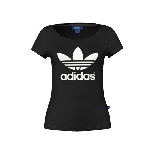 Adidas Originals Trefoil Tee Black G76739
