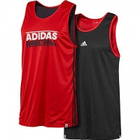 Adidas Reversible Basketball Jersey Red GFX REV JERS