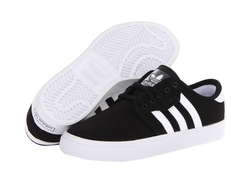 Adidas Seeley Black/ White Canvas Youth G33218