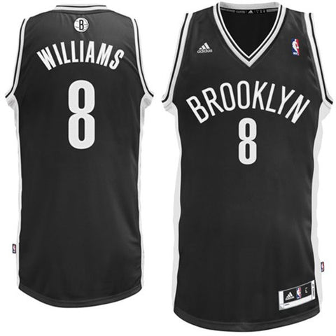 Adidas NBA Jersey Brooklyn WILLIAMS #8 Black Swingman Road Jersey Adidas L76285 Famous Rock Shop Newcastle 2300 NSW Australia