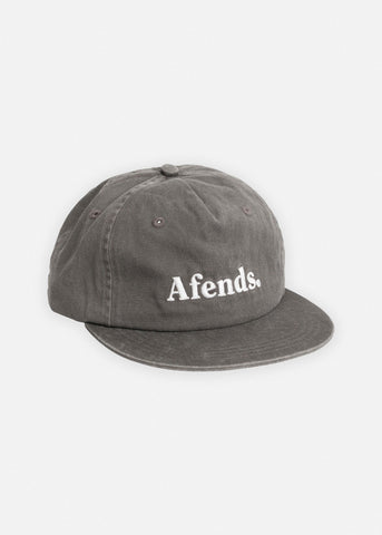 Afends Dense III Unstructured Cap Washed Grey 1307022 Famous Rock Shop Newcastle, 2300 NSW. Australia. 1