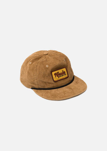 Afends Holidaze Unstructured Cap Snapback Honey One Size