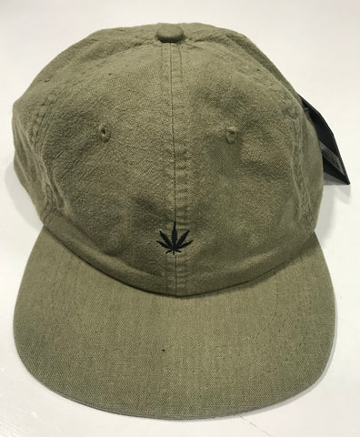 Afends Revolution Heap Soft Brim 6 Panel Cap Burnt Olive Famous Rock Shop Newcastle NSW Australia