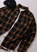 Afends Tinnie Long Sleeve Shirt Seal Brown M191250 Famous Rock Shop Newcastel, 2300 NSW. Australia. 3