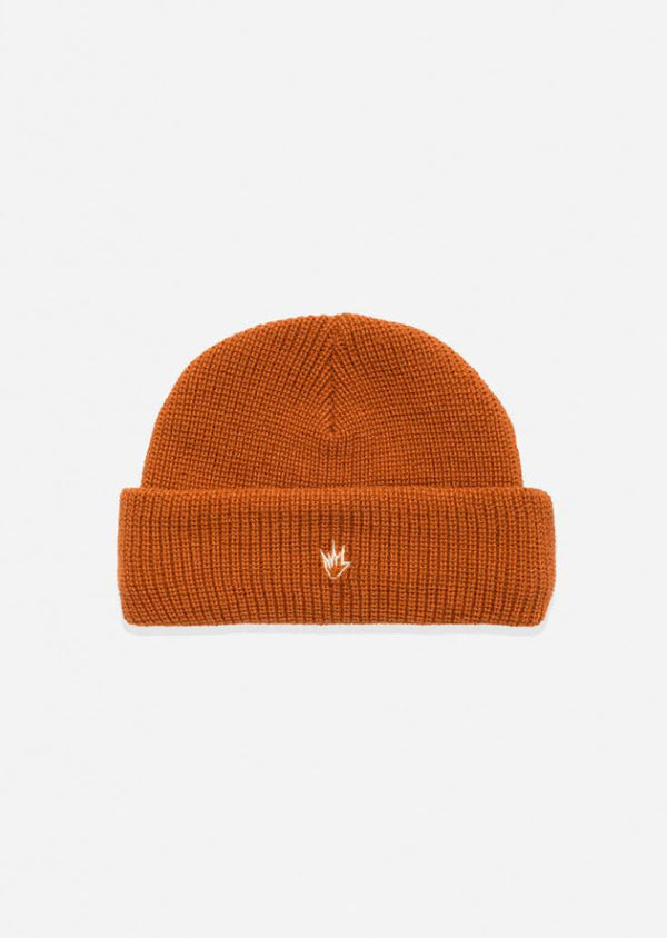 Afends Unisex Flame Wharfie Beanie Spice A182601 Famous Rock Shop Newcastle, 2300 NSW. Australia. 1