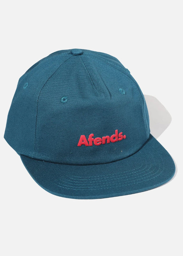 Afends Unisex Home Grown Snapback Cap Deep Water A194601 Famous Rock Shop Newcastle, 2300 NSW. Australia. 1