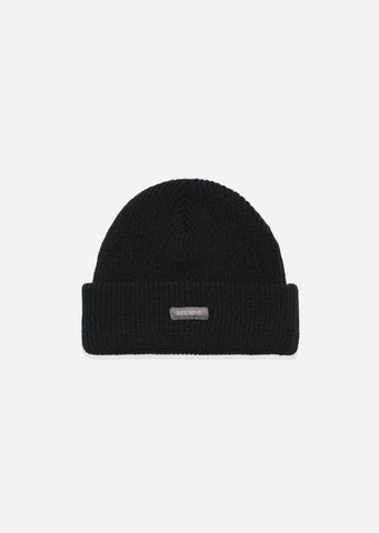 Afends Unisex Stock Standard Beanie Phantom A191605 Famous Rock Shop Newcastle, 2300  NSW Australia. 1
