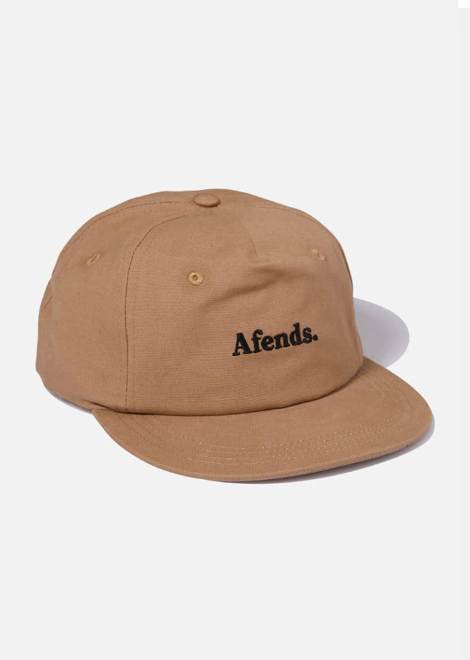 Afends Unisex Zone Half Moon Cap Taupe A193604 Famous Rock Shop Newcastle, 2300 NSW. Australia. 1