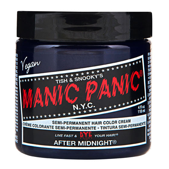 Manic Panic Semi-Perm Hair Color - After Midnight Classic Creme