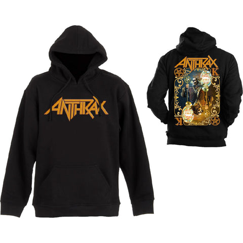 Anthrax Pullover Hoodie Evil Twin FamousRock Shop Newcastle 2300 NSW Australia