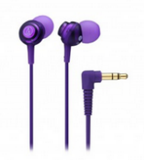 Audio-Technica Dip Earbuds Purple