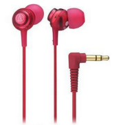 Audio-Technica Dip Earbuds Red