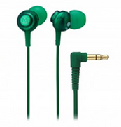 Audio-Technica Dip Earbuds Green