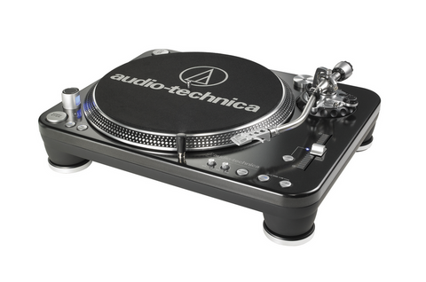 Audio-Technica Professional DJ Direct-Drive Turntable LP1240-USB