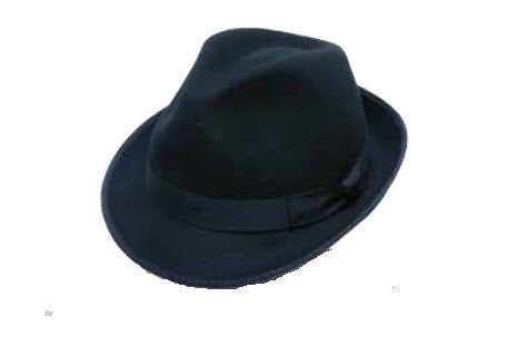 Avenel Mens Wool Felt Hat Black 2071