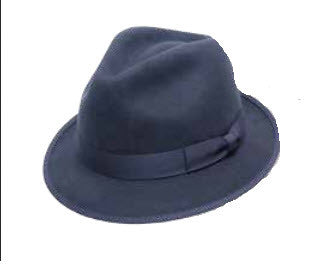 Avenel Mens Wool Felt Hat Navy 2071