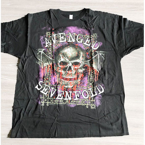 Avenged Sevenfold Men's Tee: Bloody Trellis Colour Black SALE031MB0 Avenged Sevenfold Men's Tee: Bloody Trellis Colour Black Famous Rock Shop Newcastle 2300 NSW Australia