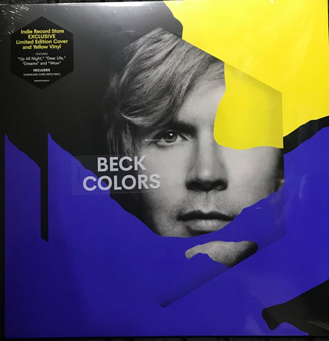 Beck Colors Limited Edition Yellow LP Vinyl Indie Exclusive