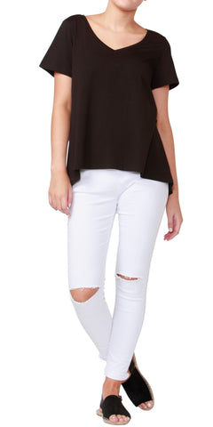 Betty Basic Hannah Tee Black